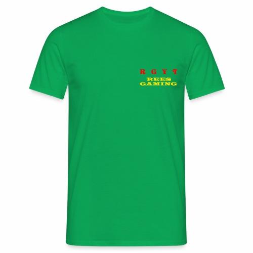Male's reesgaming shirt  - Men's T-Shirt