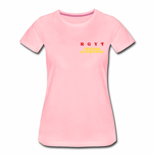 Women's reesgaming shirt  - Women's Premium T-Shirt