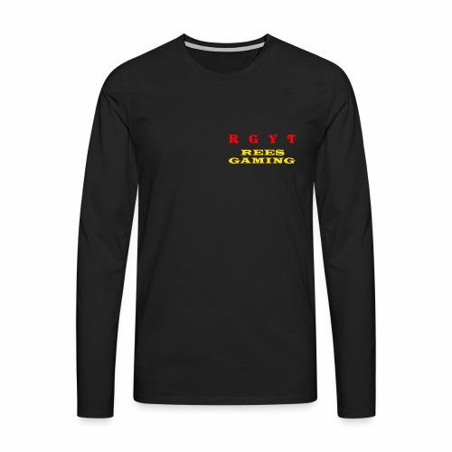Male's long sleeve reesgaming top - Men's Premium Longsleeve Shirt