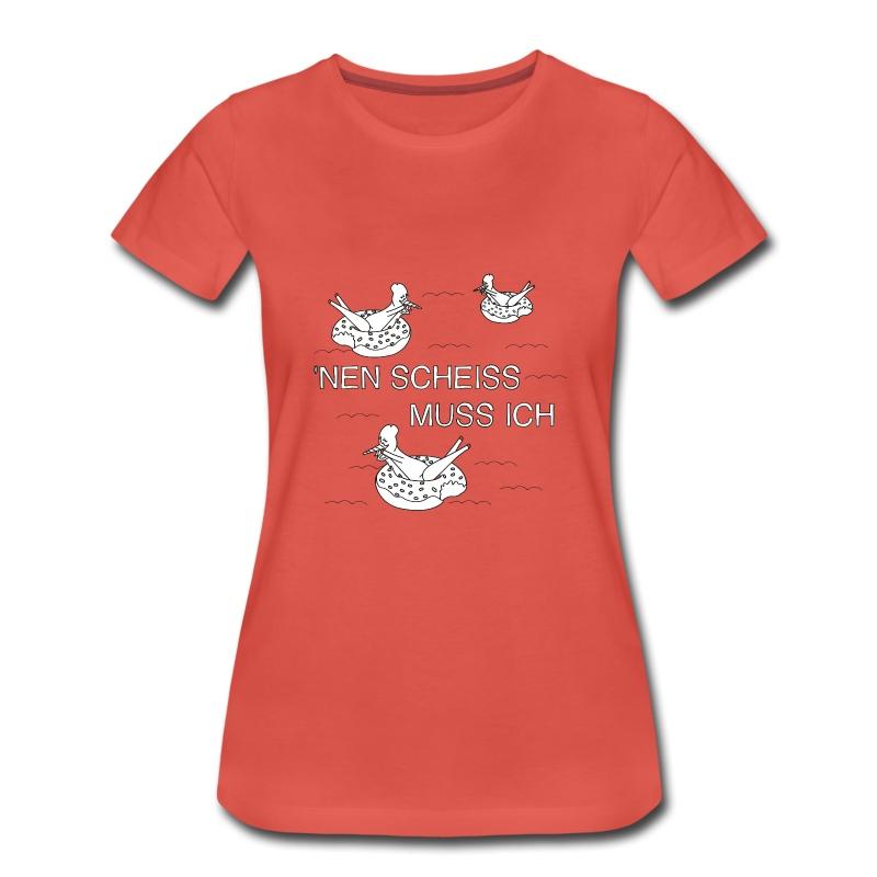 AAV -Nen Scheiss sw - Frauen Premium T-Shirt