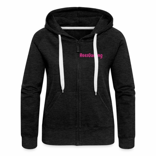 Women's reesgaming jacket  - Women's Premium Hooded Jacket