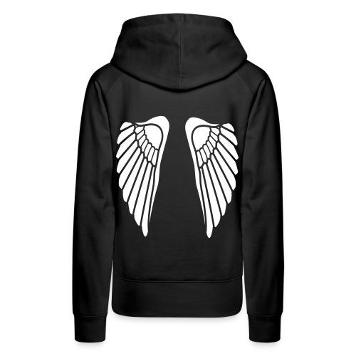 Angel Woman - Sweat-shirt à capuche Premium pour femmes