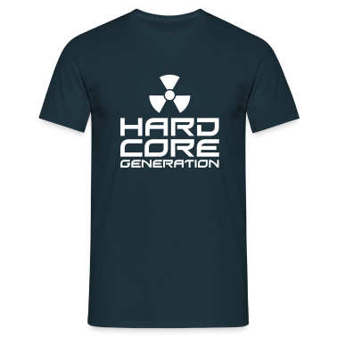 Navy Hardcore Generation III Radio Active EN Men's T-Shirts