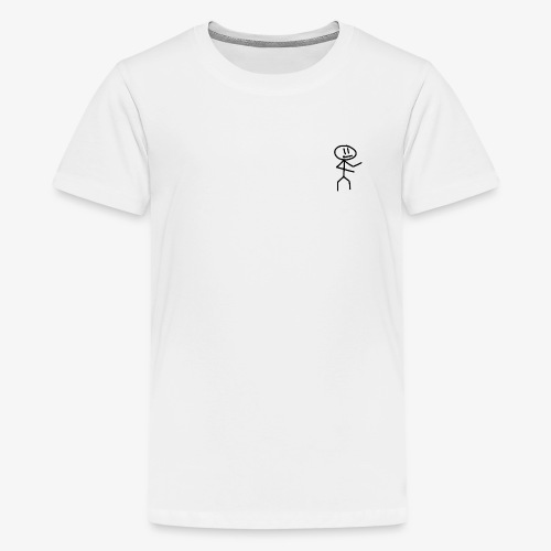 Stickman - Tee - Teenager premium T-shirt