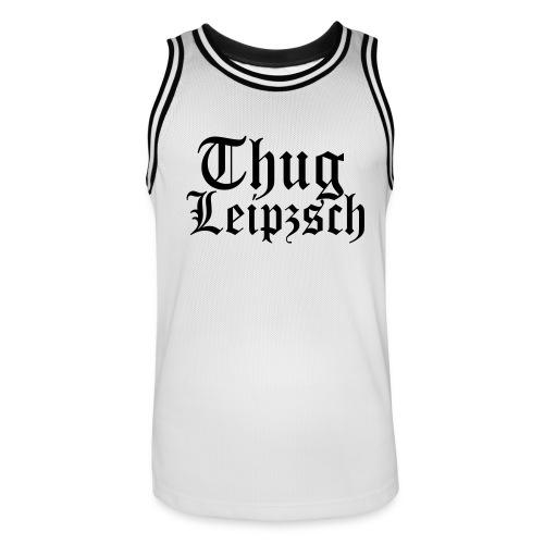 Thug Leipzsch - Männer Basketball-Trikot