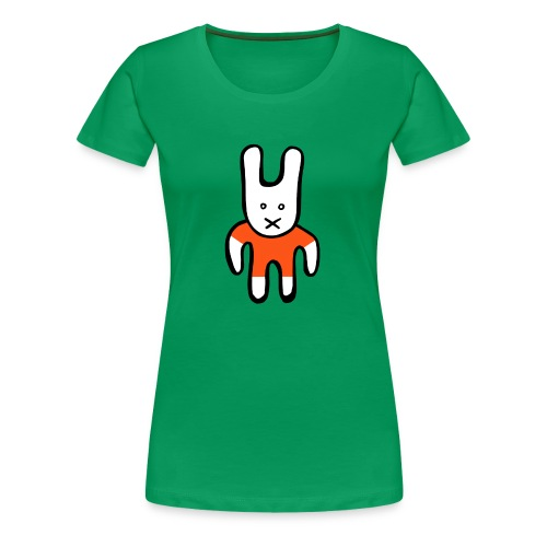 Konijn - Vrouwen Premium T-shirt