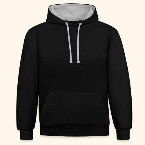 Sudadera personalizable con capucha dos colores unisex - Sudadera con capucha en contraste