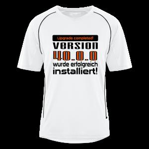 Upgrade 40 Jahre T-Shirts
