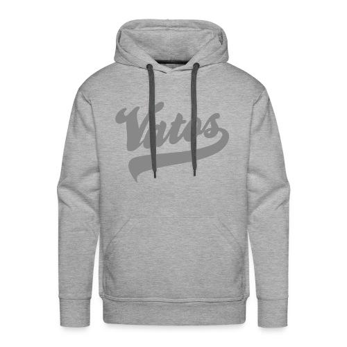 Vatos Hoody SIlverish - Mannen Premium hoodie