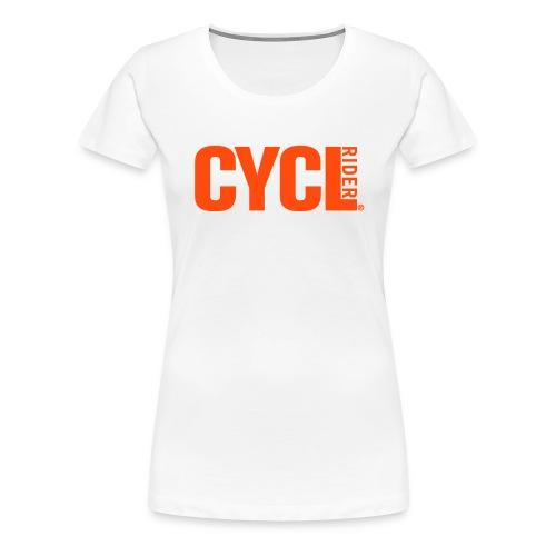 cyclrider shirt ladies premium - Women's Premium T-Shirt