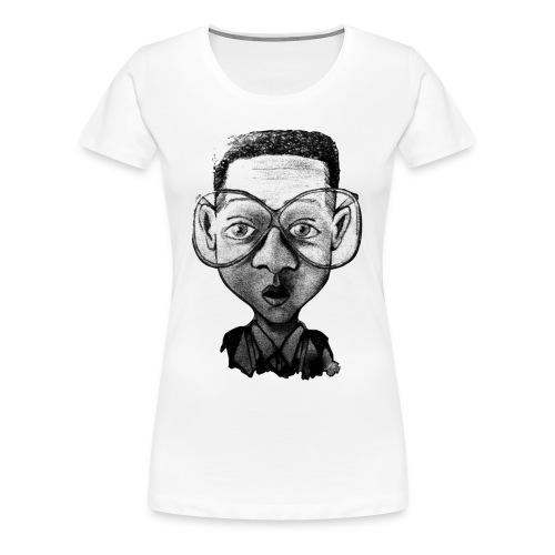 Tee shirt imprimé  'optic nerd' - T-shirt Premium Femme