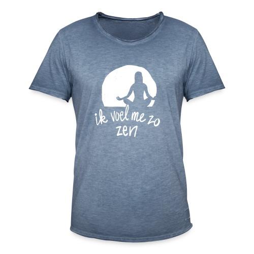 Zen - Mannen Vintage T-shirt