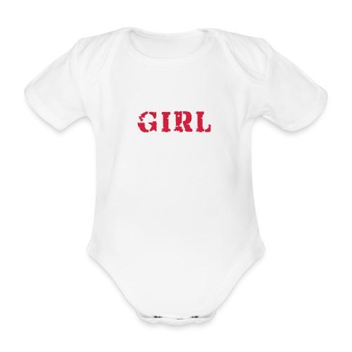 Bodygirl - Body bébé bio manches courtes