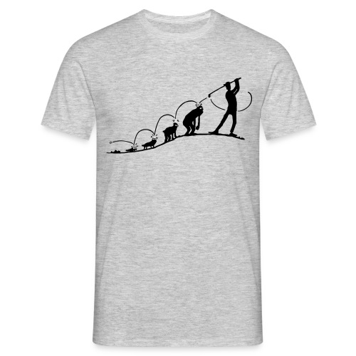 Golf Evolution - Männer T-Shirt
