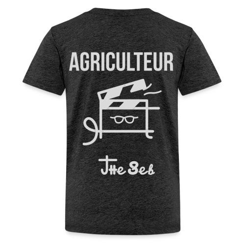 T-Shirt Homme - AGRICULTEUR - T-shirt Premium Ado