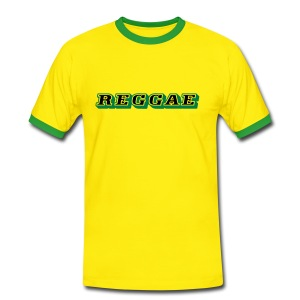 Reggae Shirt 2 colors - Männer Kontrast-T-Shirt