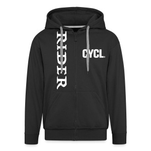 cyclrider hoodie - Men's Premium Hooded Jacket