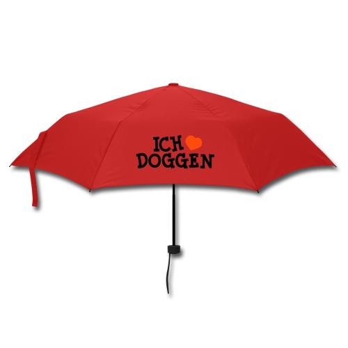 Ich liebe Doggen - Regenschirm (klein)