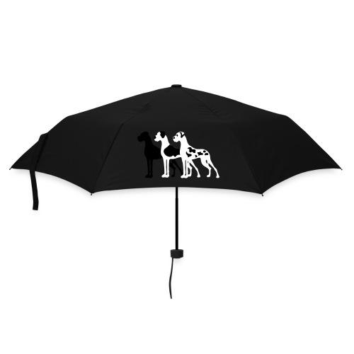 3 Doggen - Regenschirm (klein)