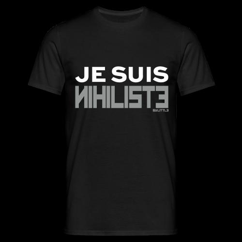 Je suis nihiliste by Lpb - T-shirt Homme
