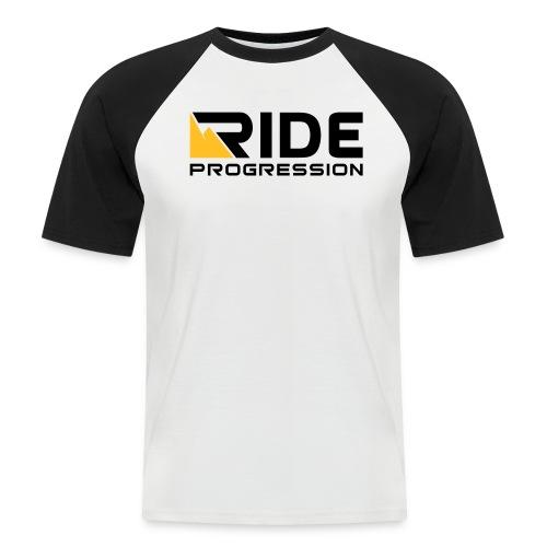 Shredder Tee Black/White - Männer Baseball-T-Shirt