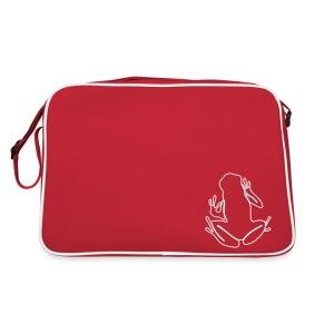 Frog bag red - Retro Bag