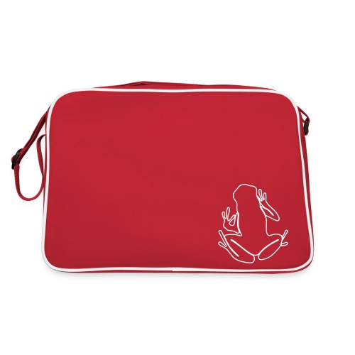 Frog bag red - Retro Bag