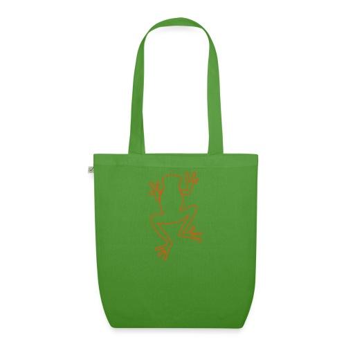 Organic frog bag - EarthPositive Tote Bag