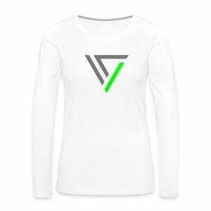 MNML V2 - langarm Shirt - Frauen Premium Langarmshirt