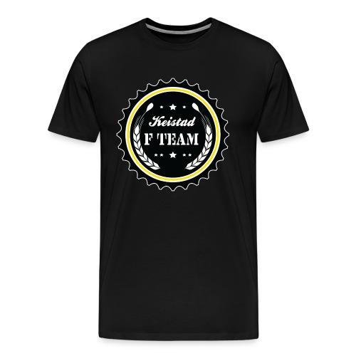 Keistad F shirt  - Mannen Premium T-shirt