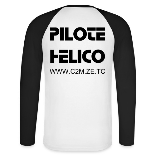 T-Shirt Manches Longues HELICO  - T-shirt baseball manches longues Homme