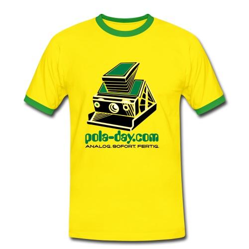 pola-day yellow - Men's Ringer Shirt