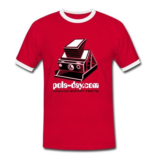pola-day red - Men's Ringer Shirt