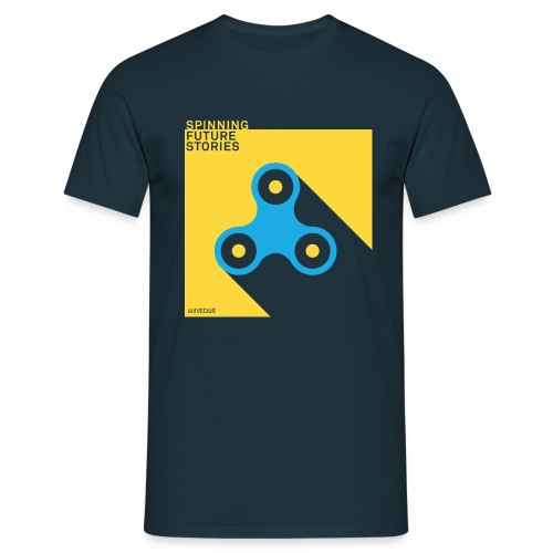 Future Stories (Navy) - Männer T-Shirt