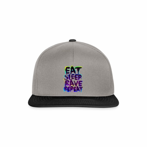 Eat Sleep Rave Repeat - Cap - Snapback Cap