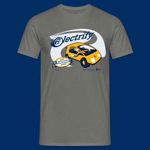 [electrify] pfiffich - Männer T-Shirt