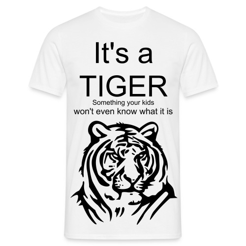 Tiger man - T-shirt herr