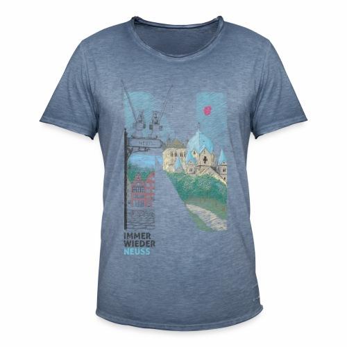 Immer wieder Neuss Männer Vintage T-shirt - Männer Vintage T-Shirt