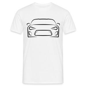 Toyota GT86 T-Shirt (Black Graphic) Mens - Men's T-Shirt