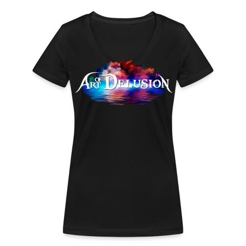 Art of Delusion - LOGO - T Shirt (women's V-Neck) - Frauen Bio-T-Shirt mit V-Ausschnitt von Stanley & Stella