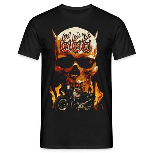 Skull 666 - T-shirt Homme