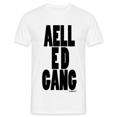 AELL E D GANG v.2 - T-skjorte for menn