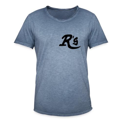 Vintage -Rs - Männer Vintage T-Shirt