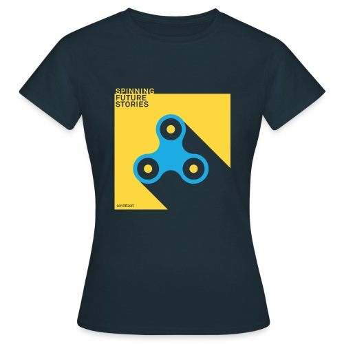 Future Stories (Navy) - Frauen T-Shirt