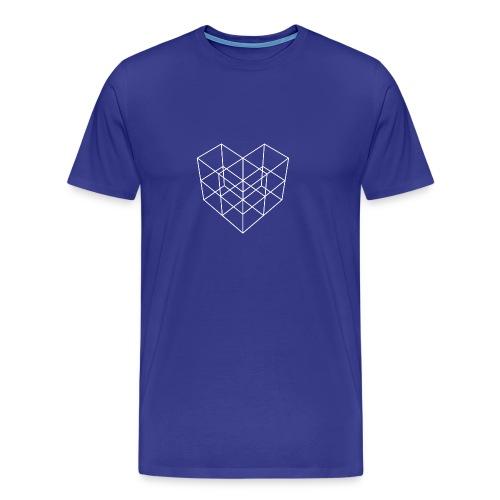 Men's Premium Hubris Mosaic t-shirt - Men's Premium T-Shirt