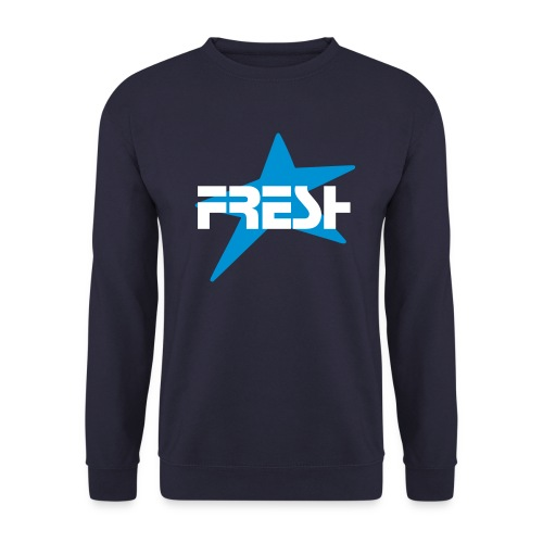 Fresh (Navy) - Men's Sweatshirt