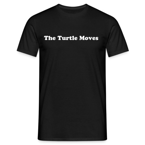TheTurtle Moves - Men's T-Shirt
