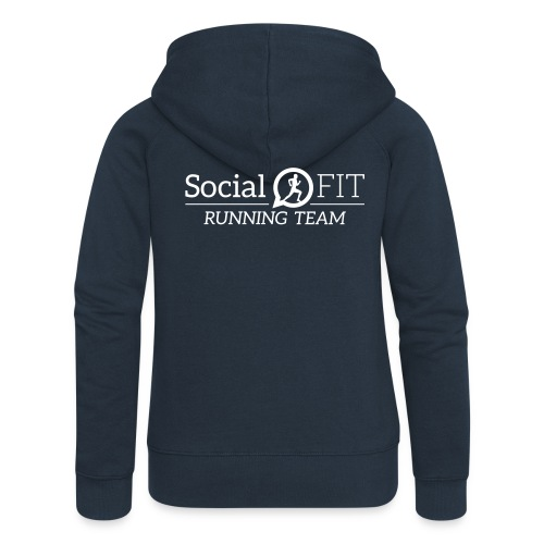 10) Kapuzenjacke Frauen Premium Hoodie Spreadshirt - Frauen Premium Kapuzenjacke