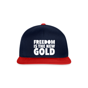 FreedomGold-Blu - Casquette snapback