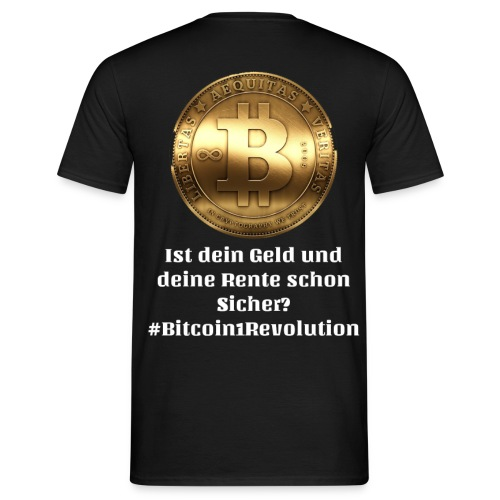 Bitcoin One Revolution - Männer T-Shirt